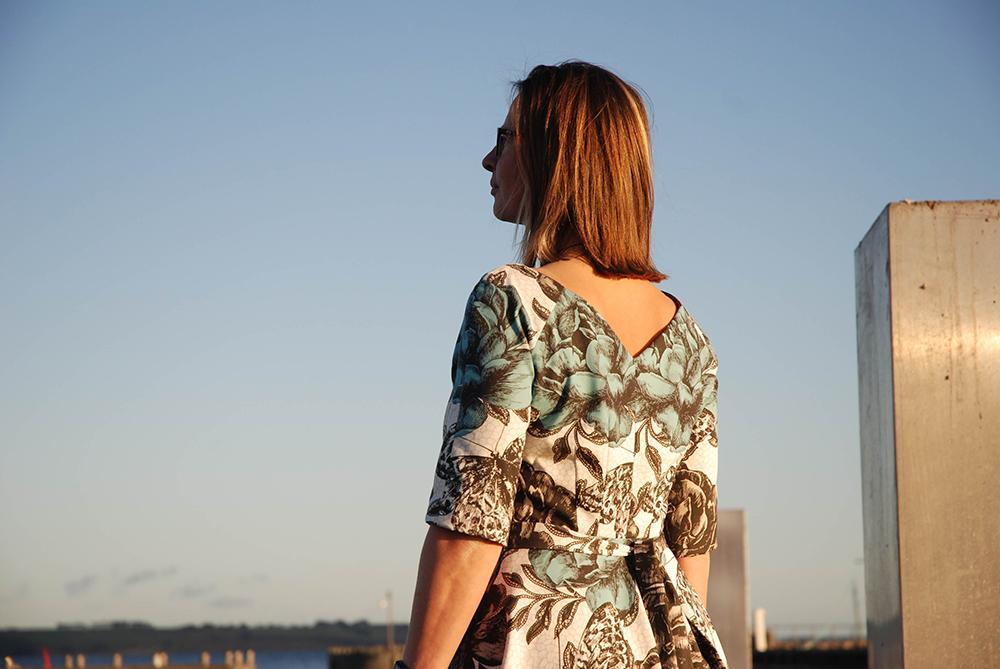 Lavendula Dress sewn by Lone
