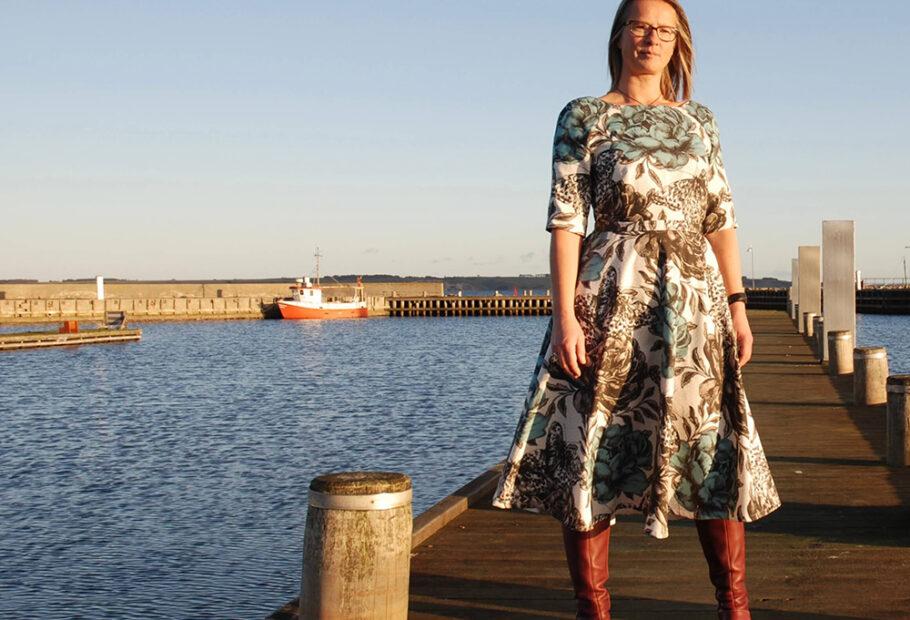 Lavendula Dress – Sewn by Lone